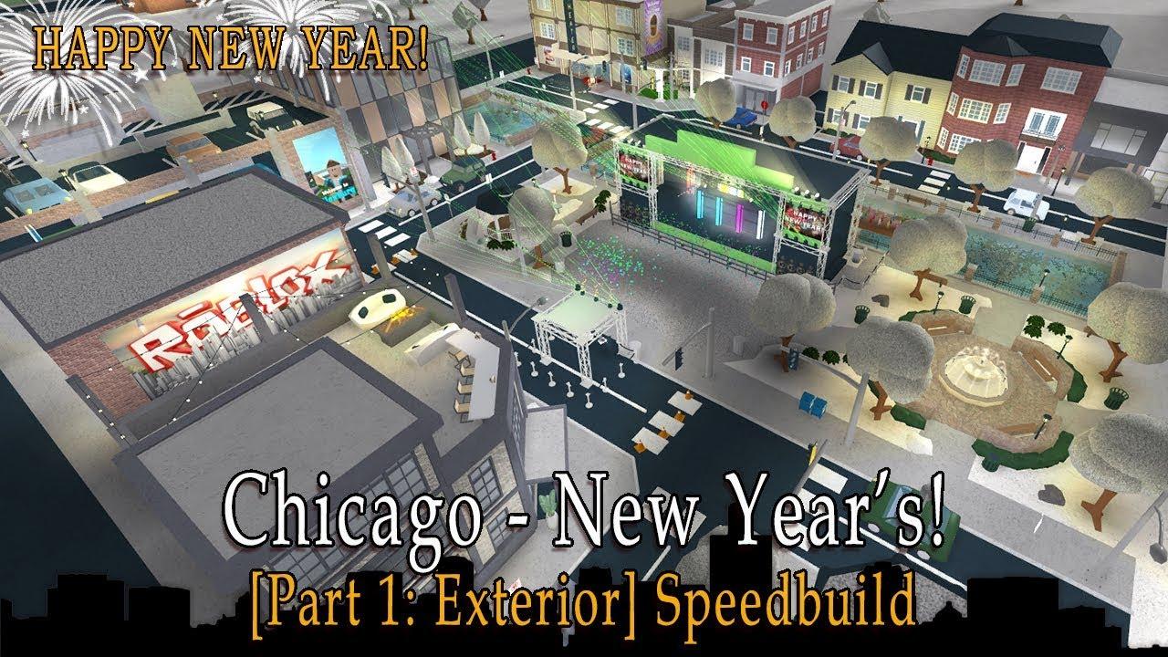 Building A Mini Town Roblox Welcome To Bloxburg 1 - Roblox Bloxburg Chicago New Years Speedbuild Part 1 Exterior
