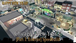 Roblox Bloxburg | Chicago - New Year