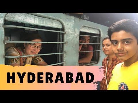 Hyderabad India Travel Vlog: Couchsurfing & Sleeper Trains