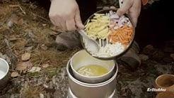 Erätukku Klubikokki - keiton valmistus trangialla