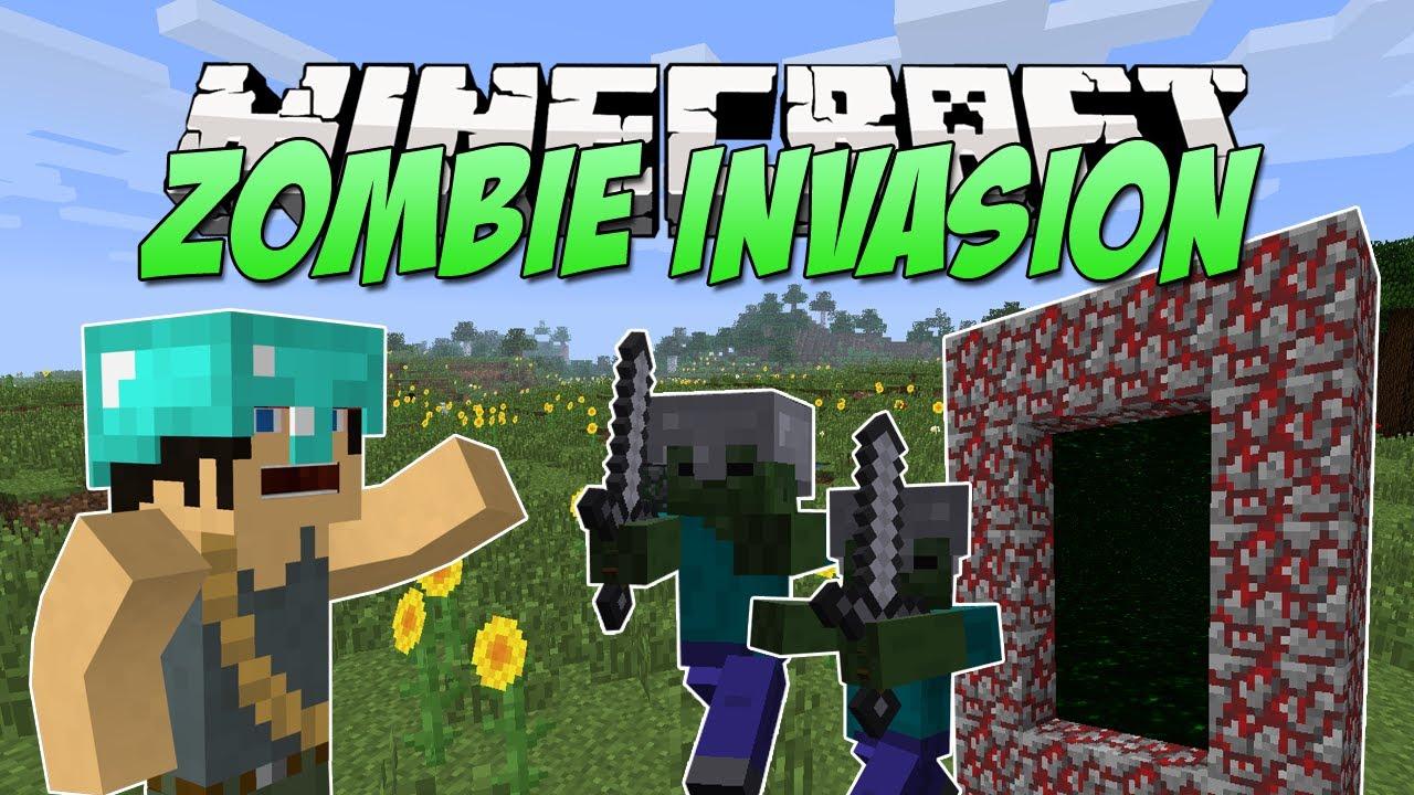 zombie invasion Minecraft Texture Pack