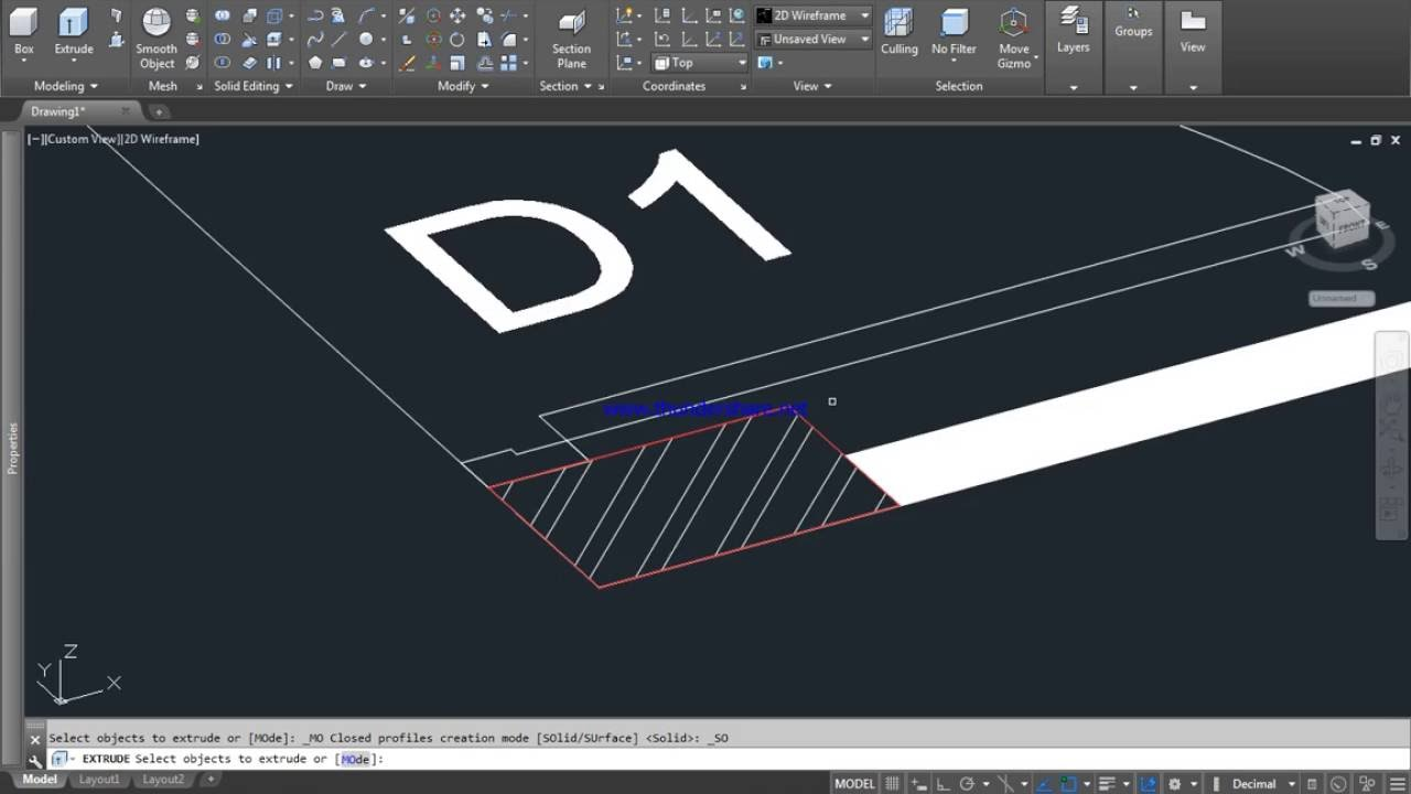 how to make 3d columns from floor plan in autocad 2015 youtube