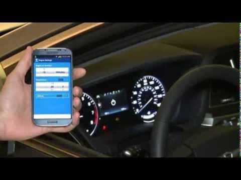 2015 Hyundai Genesis  Blue Link Smartphoone App  YouTube