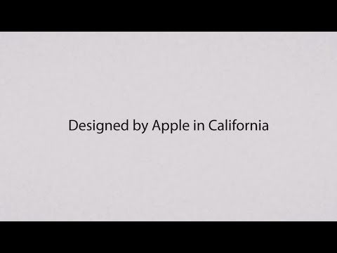Designed by Apple in California (HD)