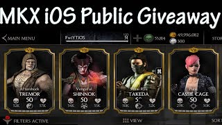 MKX iOS Public/Free Giveaway NO Jailbreak Required