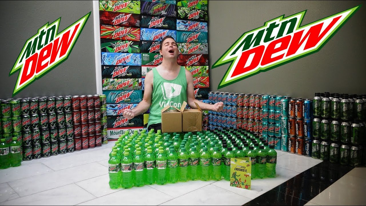 MOUNTAIN DEW SENT ME 2 AMAZING GIFTS!