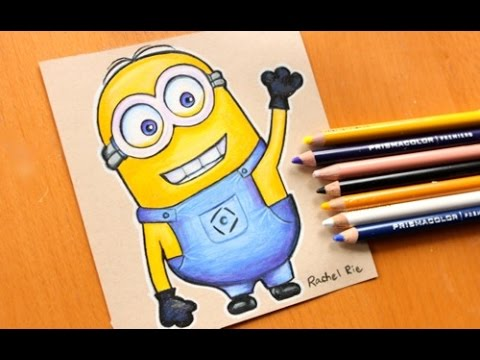 How to Draw a Minion Step by Step - DrawingNow  Easy Minion Pencil Drawings