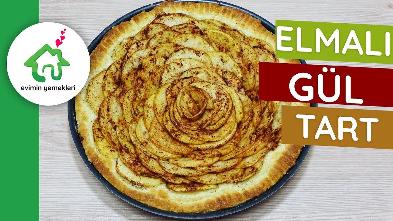 Elmalı Çiçek Turta Tarifi Videosu