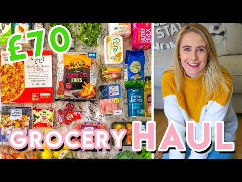 £70 GROCERY HAUL UK �� | TESCO | Gluten free + IBS friendly!
