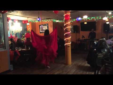 Belly Dancer at Star Istanbul Restaurant in Bridgeport, CT