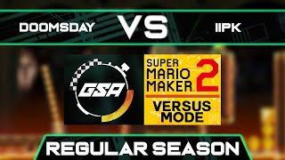 Doomsday vs iiPK   Regular Season   GSA SMM2 Versus Mode Speedrun League Season 3