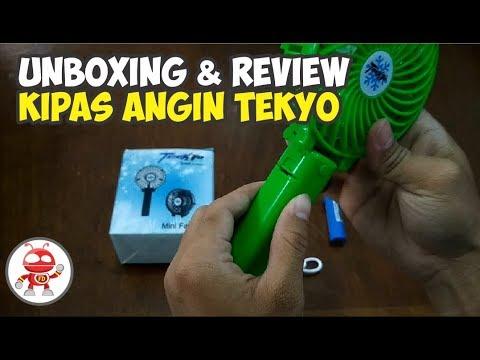 Unboxing Review Kipas Angin Lipat Portable Tekyo