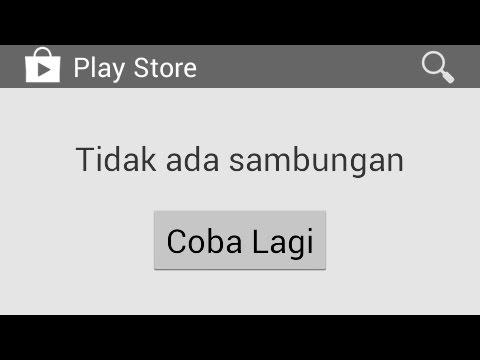 Cara Mengatasi Tidak Ada Sambungan Play Store Error No Connection