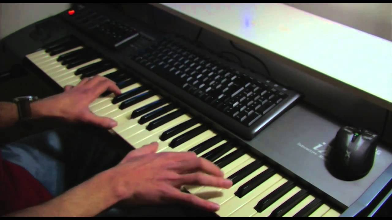 Nine Inch Nails - A Warm Place (Claudio A.F.C. piano cover) - YouTube