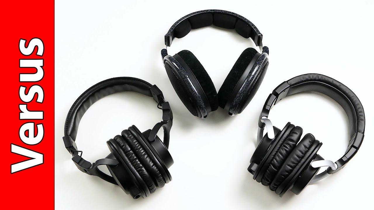 Sennheiser Hd 600 Vs Yamaha Hph Mt5 Vs Yamaha Hph Mt8 Youtube