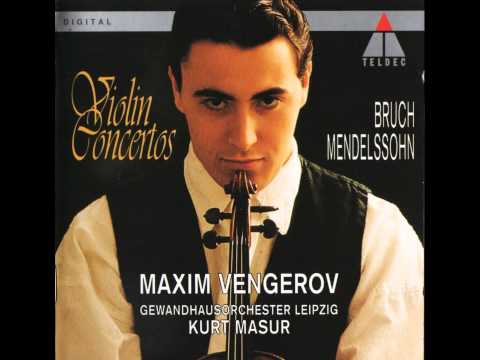 Mendelssohn, Violin Concerto in E minor Op.64 - I. Allegro m