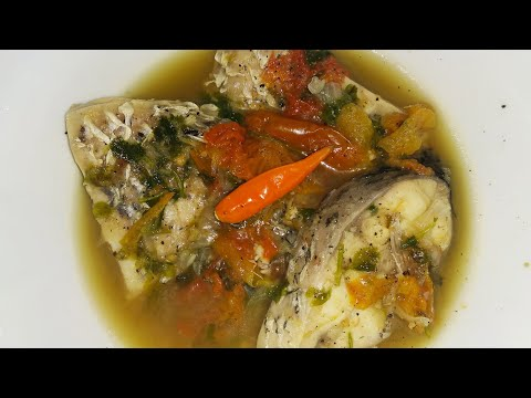 The Most Healthy Boiled Fish Recipe / Boiled Fish Recipe With Bamboo Shoot And Without Bamboo Shoot