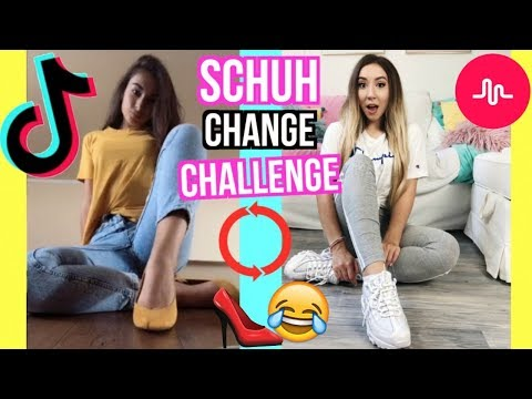 SCHUH CHANGE Challenge und OUTFIT TikTok Musical.ly