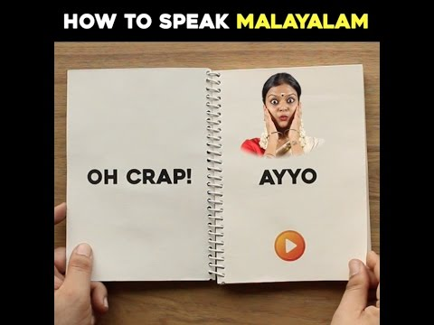 How To Speak Malayalam