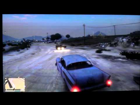 Sandy Shores Abandoned Van (Successful completion)!!