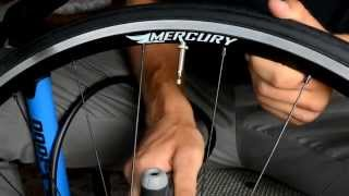 aergun x 1000 bike pump how to fill a bicycle tire with a presta valve