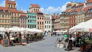 Warsaw Old Town, Warsaw, Masovian, Poland, Europe
