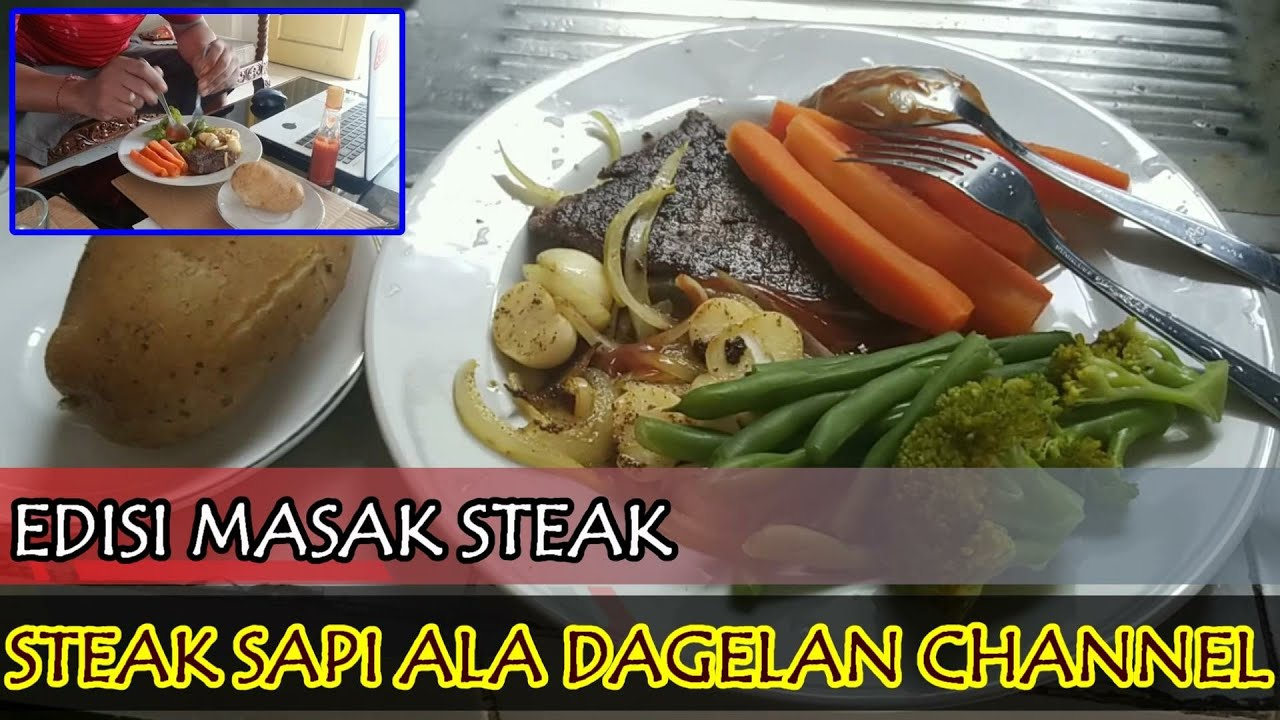 Cara Memasak Steak Daging Rumahan