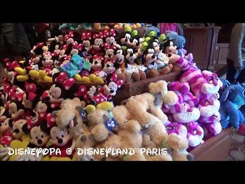Disneyland Paris Tower Hotel Gifts Shop walkthrough 2017 DisneyOpa