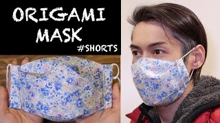 ORIGAMI MASK 3 How to make a face mask shorts