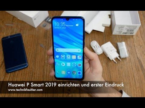 Huawei P Smart 2019 Sim Karte Einlegen.Huawei P Smart 2019 Einrichten Und Erster Eindruck