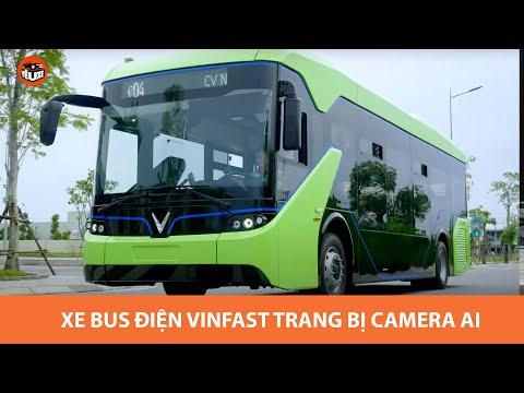 Xe bus điện VinFast sẽ được trang bị camera AI xin sò - Bước nhảy vọt xe bus tại Việt Nam