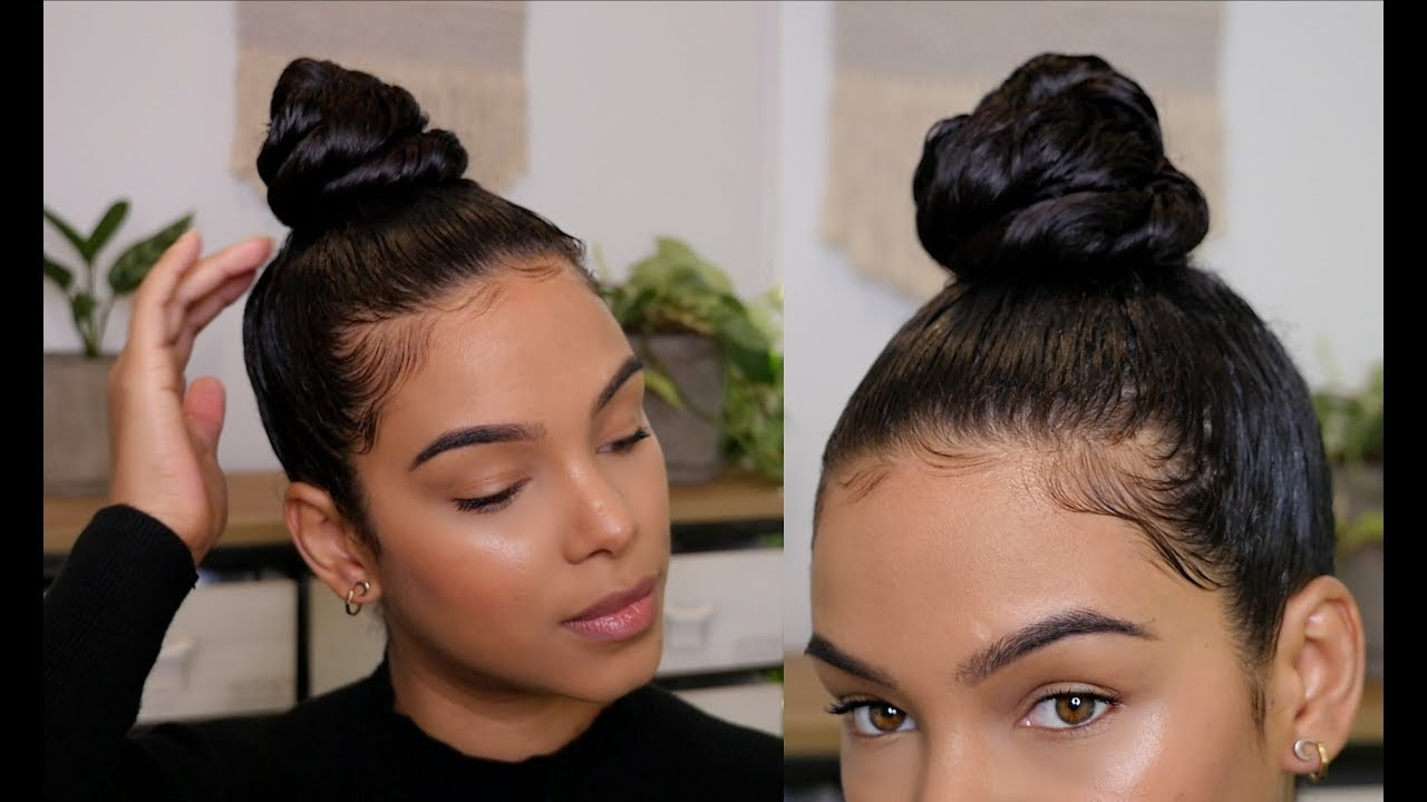 Twisted Top Knot Bun!