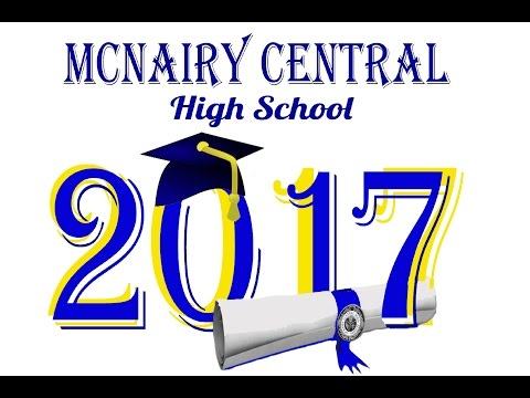 48th Commencement Exercises at McNairy Central High School 2017