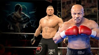 Mike Tyson vs Brock Lesnar Extreme Rules Full Fight WWE 2k15