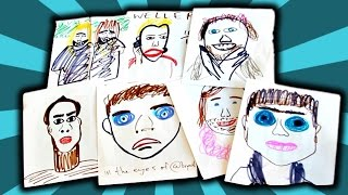 WORST YOUTUBER DRAWINGS YOU WILL EVER SEE!!!