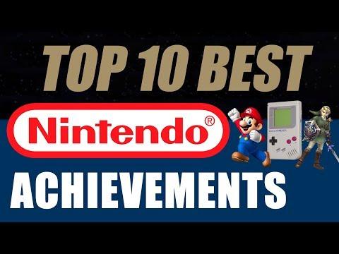 Top 10 Best Nintendo Achievements - Talk About Games