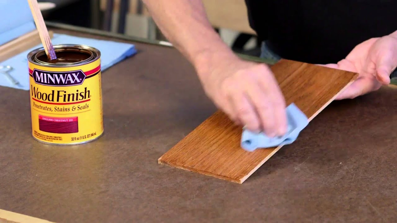 How to Finish Wood in 3 Easy Steps | Just Ask Bruce - YouTube