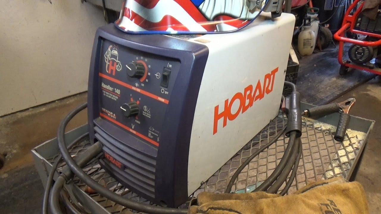hobart 140 welder review - YouTube