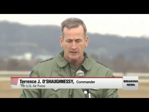 World War 3 : U.S. flies B-52 over South Korea after North's Nuclear Test (Jan 10, 2016)
