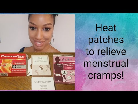 Got Bad Period Cramps? Try These Heat Patches!