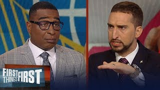 Can the Warriors force a GM 7 against the Raptors? Nick and Cris discuss | NBA | FIRST THINGS FIRST