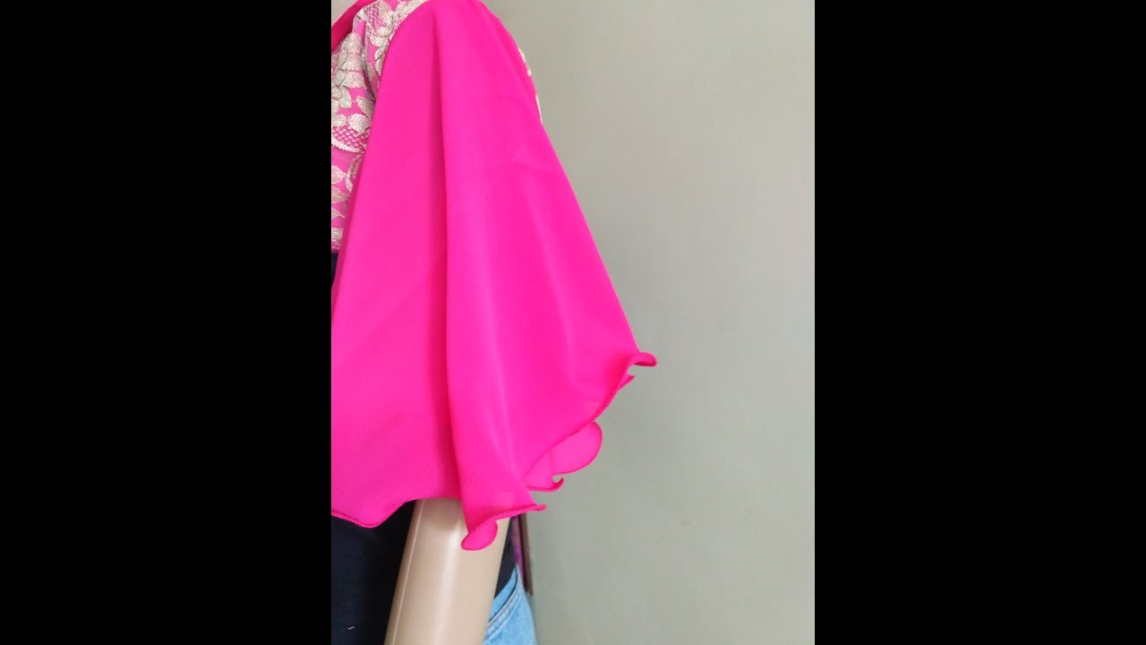55cb5c48d4 EASY MAKING OF CIRCLE SLEEVES