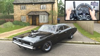Forza Horizon 4 Dom's Dodge Charger R/T (Steering Wheel + Shifter) Fast and Furious Gameplay