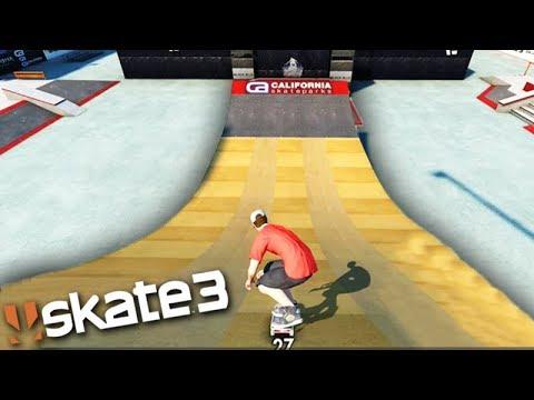 SKATE 3 - CAMPEONATO de SKATE na MEGA RAMPA!!!