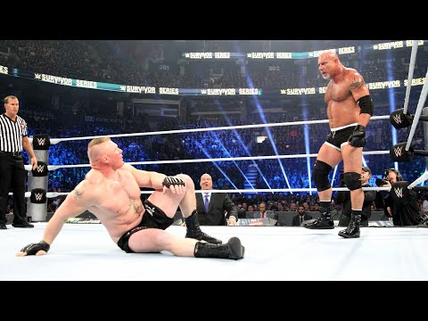 Every Goldberg Match Since His Return: WWE Playlist