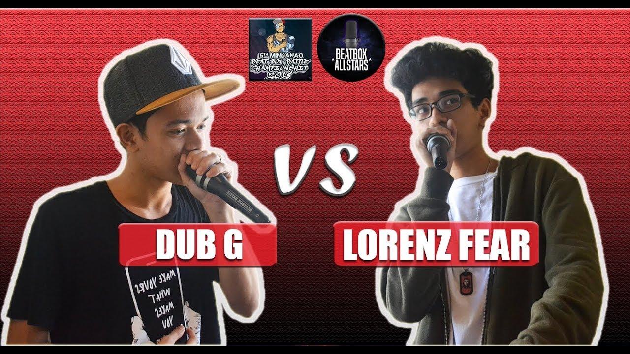 DUB G vs LORENZ FEAR - MBBC Top 16 Beatbox Battle