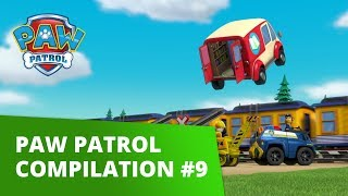 PAW Patrol | Pup Tales, Toy Episodes, and More! | Compilation # 9