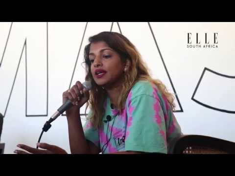 ELLE Exclusive: M.I.A in South Africa