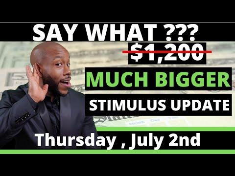 second-stimulus-check-update---july-2nd-much-bigger-+-pua-unemployment-benefits-+-ssi-ssdi