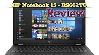 HP Notebook | HP 15 - BS662TU | 15.6-inch laptop | Core i3 7th Genration | Full Review